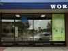 Storefront window vinyl